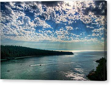 Oak Harbor Canvas Print - Deception Pass by Spencer McDonald
