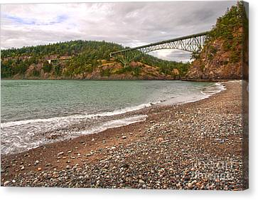 Deception Pass Washington Canvas Print by Artist and Photographer Laura Wrede