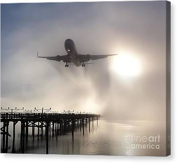 Canvas Print featuring the photograph Decision Height by Alex Esguerra