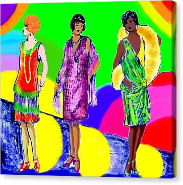 Deco 1920s Canvas Print