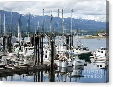 Deep Bay Harbor Canvas Print by Artist and Photographer Laura Wrede
