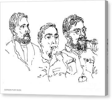 Deepfreeze-s.pole-art3 Canvas Print by Gordon Punt