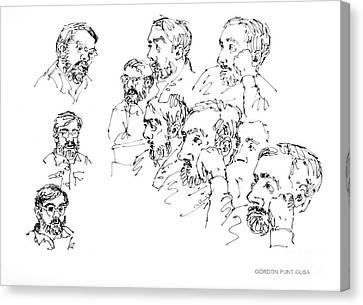 Deepfreeze-s.pole-art5 Canvas Print by Gordon Punt