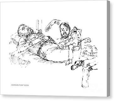 Deepfreeze-s.pole-art7 Canvas Print by Gordon Punt