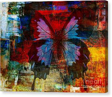 Discrimination Canvas Print - Defining Something by Fania Simon