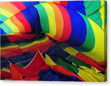 Canvas Print featuring the photograph Deflated by Mike Martin