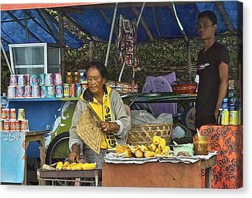Delicious Corn - Bali Canvas Print