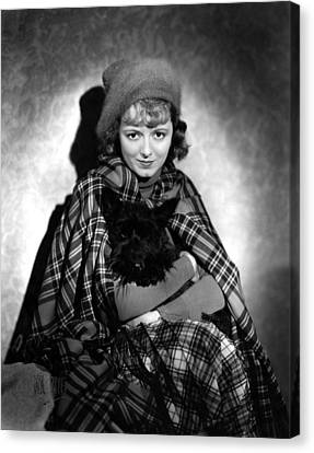 Delicious, Janet Gaynor, 1931 Canvas Print by Everett