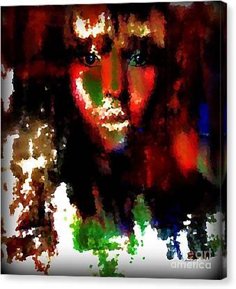 Delilah And The Secret Canvas Print by Fania Simon