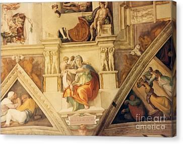 Delphica Canvas Print