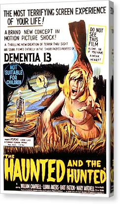 Dementia 13, Aka The Haunted And The Canvas Print by Everett
