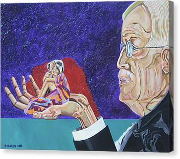 Dementia Canvas Print by John Keaton