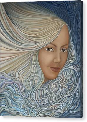 Demeter Canvas Print by Joanna Pregon
