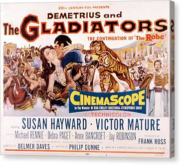 Demetrius And The Gladiators, Susan Canvas Print by Everett