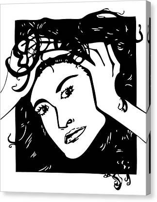 Demi Canvas Print by Artistic Photos