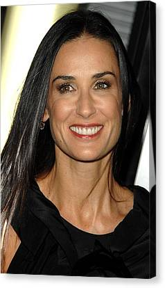 Demi Moore At Arrivals For Sorority Row Canvas Print by Everett