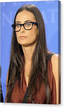 Demi Moore In Attendance For Annual Canvas Print