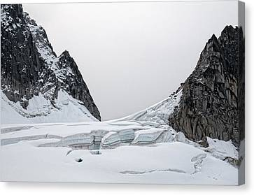 Denali Park Glacier Canvas Print by Gary Rose
