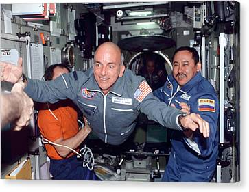 Dennis Tito, First Space Tourist Canvas Print by Nasa
