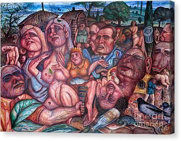 Depressive Art Canvas Print by Vladimir Feoktistov