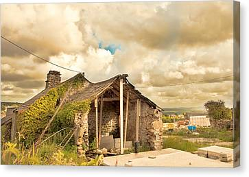 Derelict Building Canvas Print