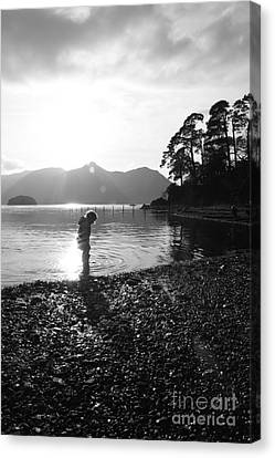 Canvas Print featuring the photograph Derwent by Linsey Williams