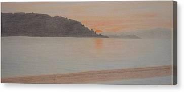 Des Moines Marina 2 Of 3 Canvas Print