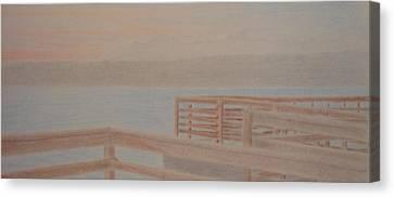 Des Moines Marina 3 Of 3 Canvas Print