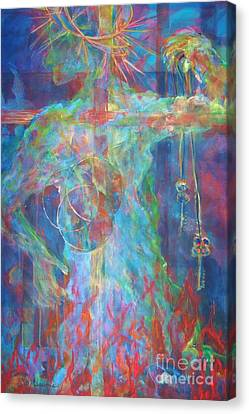 Descended Canvas Print by Deb Magelssen