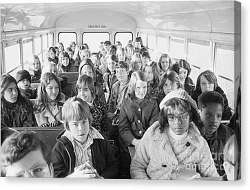 Desegregation: Busing, 1973 Canvas Print by Granger