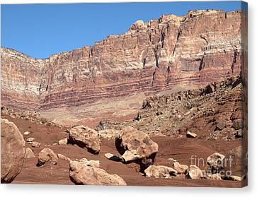 Canvas Print featuring the photograph Desert Colors by Bob and Nancy Kendrick