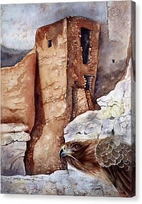 Desert Dwellers Canvas Print by Mary McCullah