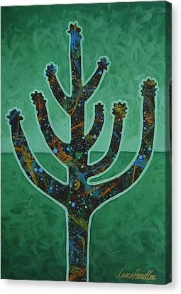 Desert Green Canvas Print by Lance Headlee