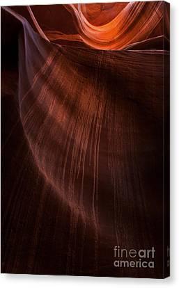 Drips Canvas Print - Desert Rain by Mike  Dawson