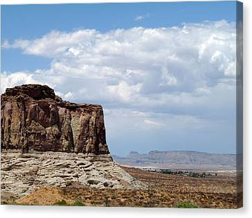 Desert Sky Canvas Print by Terry Eve Tanner