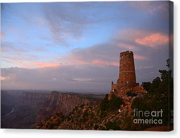 Desert View Watchtower Canvas Print by Cassie Marie Photography