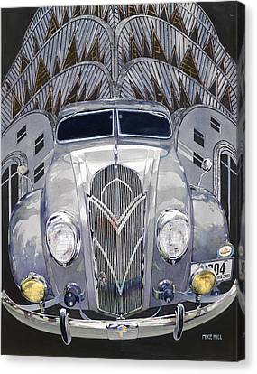 Desoto And Deco Design Canvas Print by Mike Hill