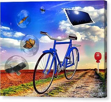 Destination Unknown Canvas Print by Anthony Caruso