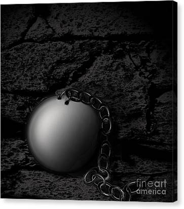 Detached Canvas Print by Joe Russell