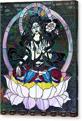 Devi Shakti Goddess Canvas Print
