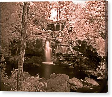 Canvas Print featuring the photograph Devil's Hopyard by William Fields