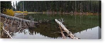 Devil's Lake Oregon Canvas Print by Twenty Two North Photography
