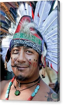 Dia De Los Muertos - Day Of The Dead 10 15 11 Procession Canvas Print
