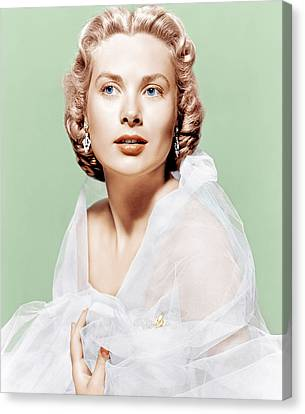 Dial M For Murder, Grace Kelly, 1954 Canvas Print by Everett