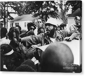 Candidate Canvas Print - Dick Gregory (1932- ) by Granger