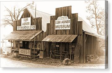 Dick Huddleston Store Est. 1909 Canvas Print by Douglas Barnard
