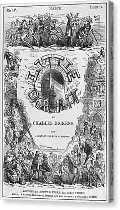Dickens: Little Dorit Canvas Print by Granger