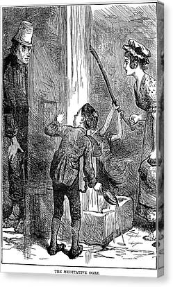 Dickens: Nicholas Nickelby Canvas Print by Granger