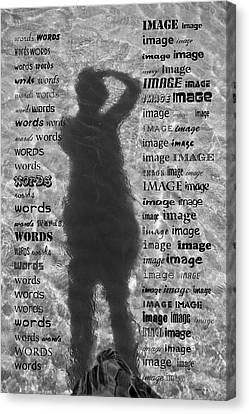 Diction Canvas Print by Betsy Knapp