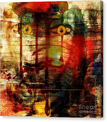Did You Say - Trust Canvas Print by Fania Simon